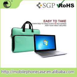 Fasion Multi-function Waterproof Scratch-resistant PU Laptop Bag for Macbook Pro