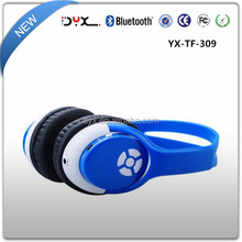 2015 guangdong bluetooth headphone with supporting TFcard headphone