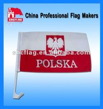 2012 different national plastic pole Car Flag