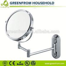 7 polegadas extensível de barbear espelho para o chuveiro
