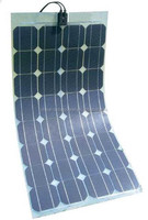 China High Efficiency 100W Flexible Solar Panel