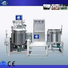 lotion /cosmetic/toothpaste vacuum emulsifying mixer from China