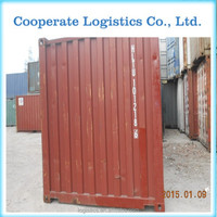 used sea containers, used sea shipping containers, used 20ft containers in Guangzhou/Shenzhen/Qingdao China