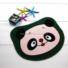 cartoon print anti-slip rugs children bedroom's mat made in china