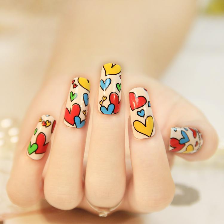 Wholesale Printer Metallic Flash Beauty Nail Sticker - Buy Beauty ...