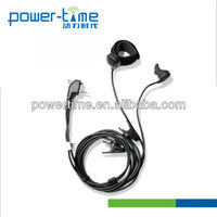 Earbone headset headphone iwth medicinal grade silica gel for comfortable wear for interphone communication (PTE-500)