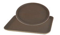wholesale hotel SMC non-slip round fast food tray