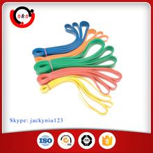 Custom resistance exercise power band loop