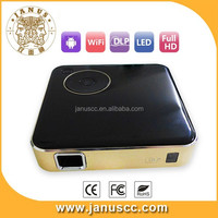 RK3188 1G RAM 8G FLASH DLP 50lums android 4.4 mobile phone projector android