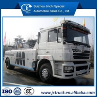 tow truck wrecker/wrecker car Shacman tow truck for sale, 40 ton rotator tow truck