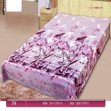 Hot sale branded Scottish blanket