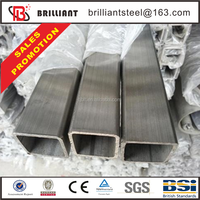 Tianjin square rectangular pipe ! steel water pipe price best price of unit weight ms steel pipe