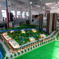 Scale models for residential building construction,3d architecture model