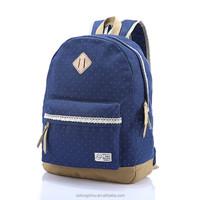 Wholesale Backpack High School Back Pack Women's Casual Daypacks Men Canvas Laptop Backpack Girls Female canvas backpack