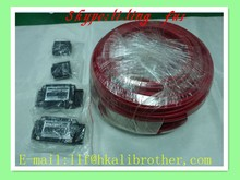 CE & RoHs 60W 8*4(width*thickness) XD-S-R-007 Self-Regulating Temperature Electric Heating Wire For Petrol Oil Gas Pipe
