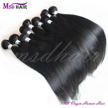 Wholesale quality unprocessed brazilian virgin hair