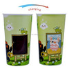 Plastic magic cup thermosensitive color change cup promoiton gift