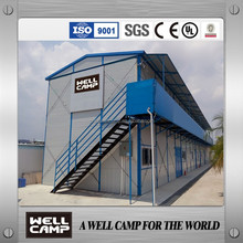 China Famous brand WELLCAMP modern prefab house suit for labour camp