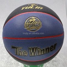 official size Outdoor Exercise Import PU Basketball for game
