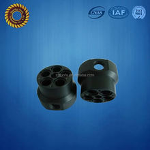 custom Black Acrylic or PMMA plastic cnc machining parts