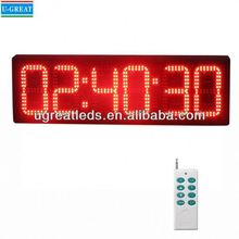 ali expres china montado en la pared 12v led reloj