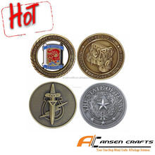 2015 hot sale of new custom old coins for sale