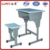 Ergonomic adjustable student mould board desk and chair for sale