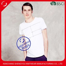 2015 fashion design custom man t shirt