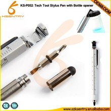 Hot sale stylus pen / multi-function pen / touch pen with ballpoint and screwdriver