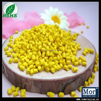 Yellow color plastic masterbatch for injection molding products