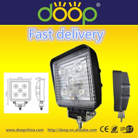 China Manufacture Commercial electric led work light,retractable led work light