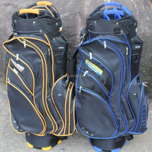 Onoff yellow and green cart golf bag