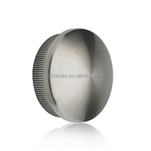 china to canada fencing posts,fencing hardware, handrail end cap for stainless steel tube