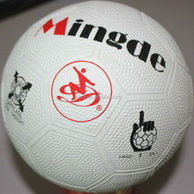 Popular best selling hollow rubber hand ball