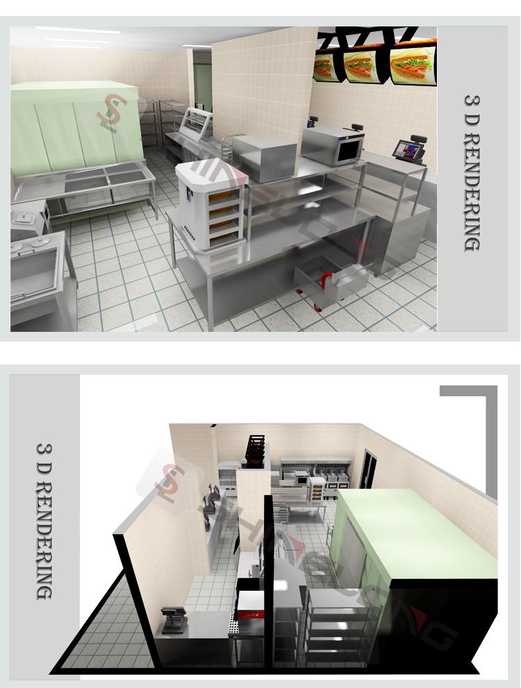 Qualit assur e commerciale rapide alimentaire hamburger for Equipement restauration rapide