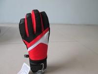 Ski Glove Women Conductive Five Finger Glove Patchwork Contrast Color Ski Glove JiaXiang Manufacture