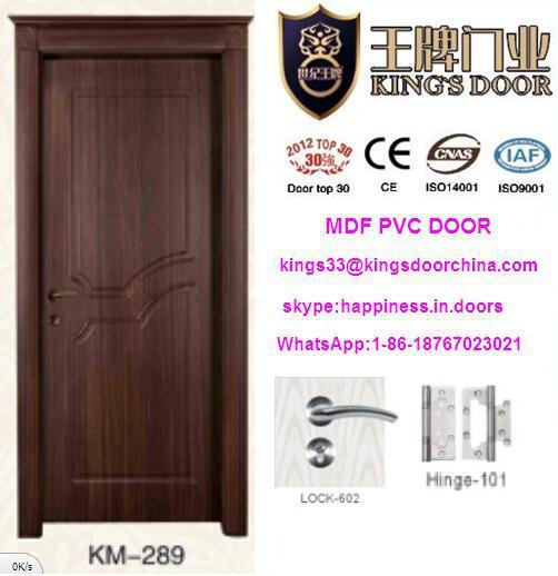 El ltimo turco vidrio interior de madera mdf de la puerta for Puertas de madera habitaciones