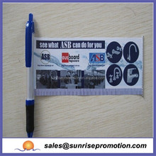 2015 Best Selling Promotional Retractable Flag Pen Banner Pens