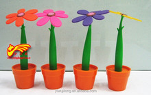 The sun flower pot Flower modelling ballpoint pen Flowers can be tailor-made to support