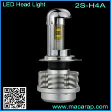 MACAR 2S design high low beam auto lamp h4 led headlight bulb 40w power long life