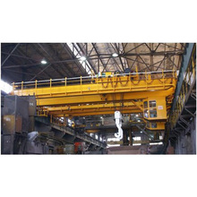 Lh Model Double Girder Bridge Cranes For Steel Metal Workshop