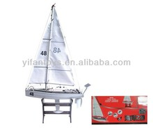Hot sale RC Jalor 32548 remote control simulation modle 2CH rc speed radio racing sail boat