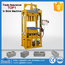 hydraulic press machine C25 easy block making machine price block machine price used
