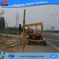 Yc230/260 highway construction hammer vibratory piling truck
