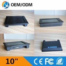 10 inch LED computer monitors with VGA DVI and wall mount