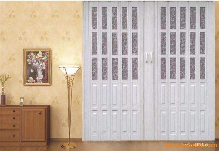 Cheap high quality pvc folding door accordian door with for Cheap pvc door