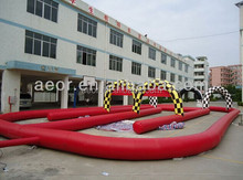 Cheap price 0.55mmPVC Adults racing go kart for sale,Go kart car prices,Go kart track