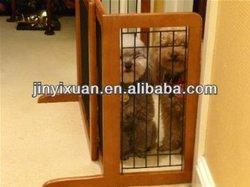 Expanding Wooden Pet Door / Indoor Dog Gate / Pet Gate