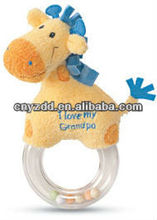 hand bell toy plush