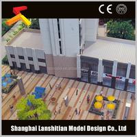 commercial building models / architectural models for real estate